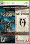 Bioshock & Elder Scrolls IV: Oblivion Bundle BoxArt, Screenshots and Achievements