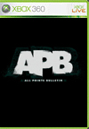 APB BoxArt, Screenshots and Achievements