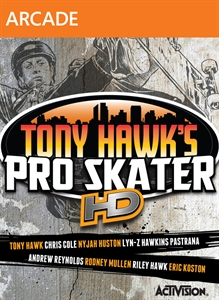 Tony Hawk's Pro Skater HD Cover Image