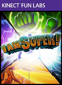 Kinect Fun Labs: I Am Super! BoxArt, Screenshots and Achievements
