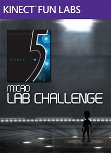 Kinect Fun Labs: 5 Micro Lab Challenge BoxArt, Screenshots and Achievements