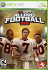All-Pro Football 2K8 Cover Image
