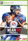 NCAA Football 08 BoxArt, Screenshots and Achievements