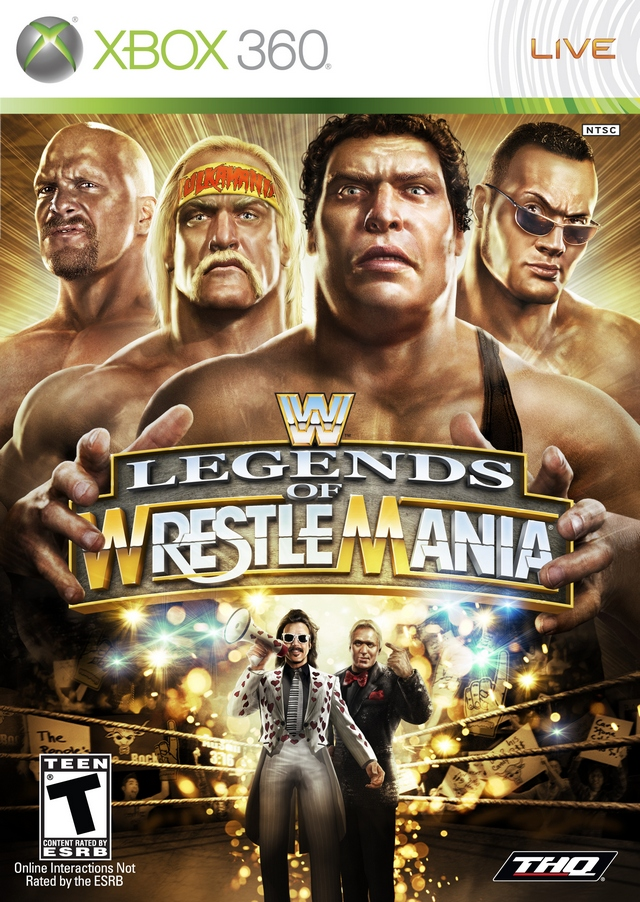 WWE Legends of Wrestlemania BoxArt, Screenshots and Achievements