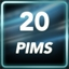 20 PIMs Achievement
