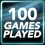 100 Games Played Achievement