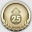 25 Levels Up Achievement