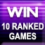 10 Ranked Wins Achievement