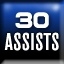 30 Assists Achievement