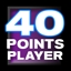 Score 40 Pts With Any Player