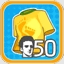 Purchase 50 male outfits Achievement