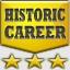 Historic Career Achievement