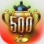 500 Club Achievement