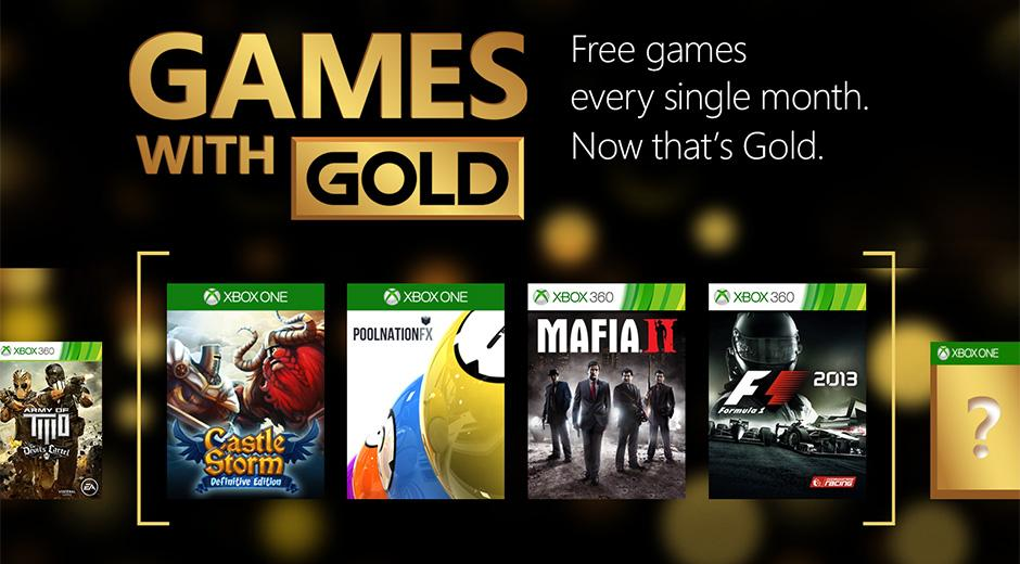 Xbox Live Games with Gold for May 2015