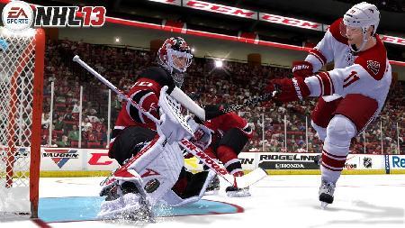 NHL 13 Video Game Screenshot