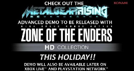 Zone of the Enders Announcement