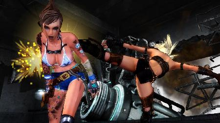 Girl Fight Screenshot