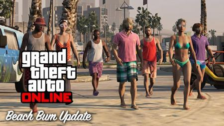 GTA Online Beach Bum Pack - Title Update 1.06