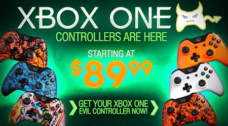 Evil Controllers - Custom Xbox One Controllers