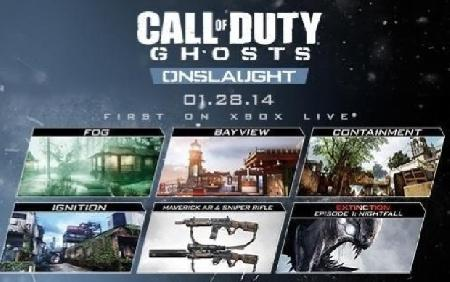 Call of Duty Ghosts DLC Onslaught