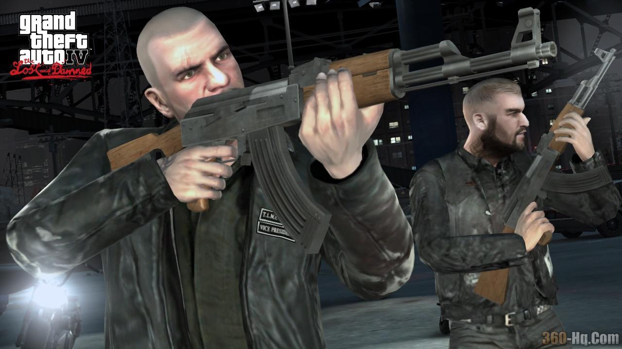 Видео для игры Grand Theft Auto 4 The Lost and DamnedVGA Trailer