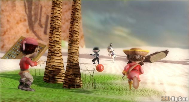Pirates vs. Ninjas Dodgeball Screenshot 3263