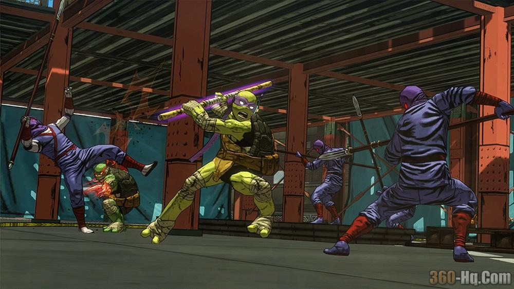 Teenage Mutant Ninja Turtles: Mutants in Manhattan Screenshot 30883