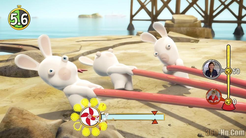 Rabbids Invasion: The Interactive TV Show Screenshot 30470