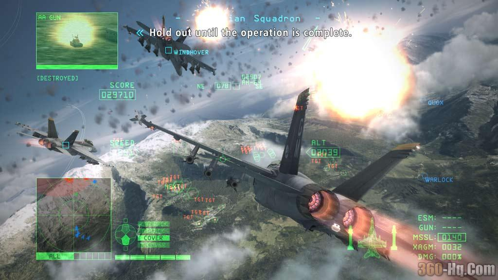 Ace Combat 6 Screenshot 8422