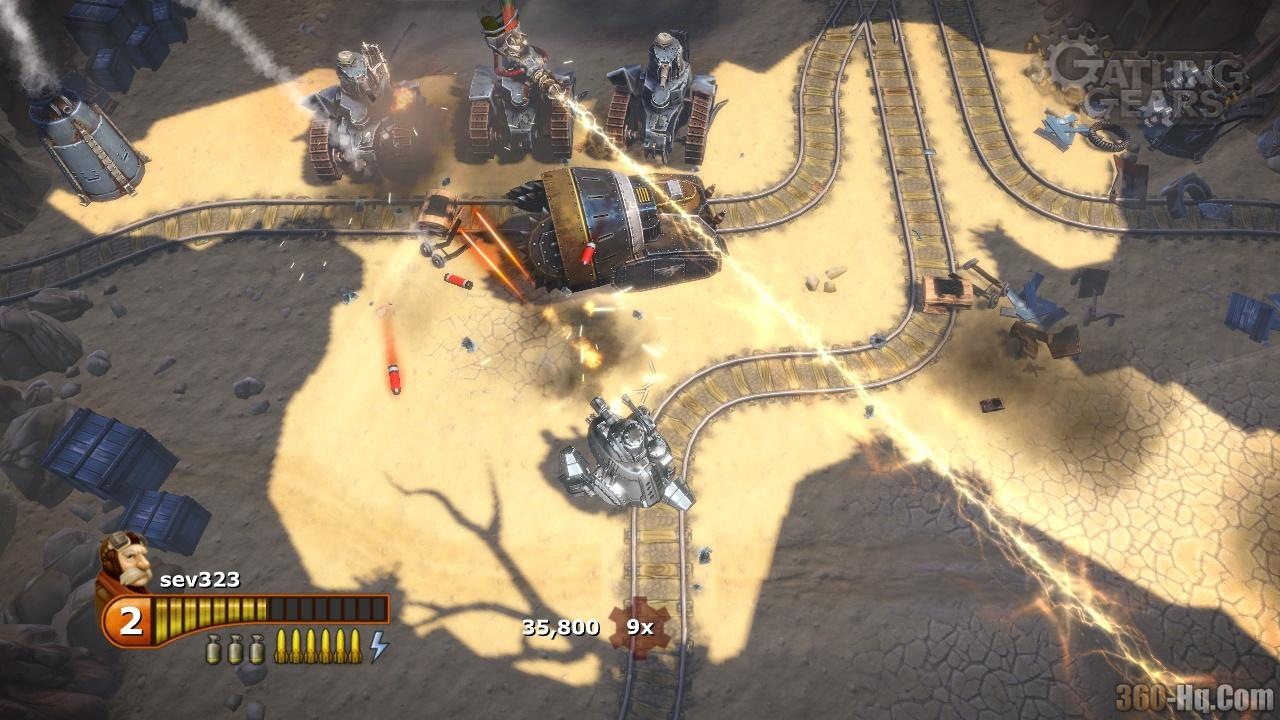 Gatling Gears Screenshot 16971